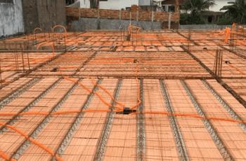 Serviços e Materiais de Lajes Treliçadas – Visita na Obra #6