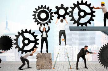 Produtividade da Mão de Obra Vs Tamanho da Equipe